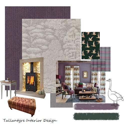 Tallantyre Interiors Morpeth And Bedlington Wallpaper